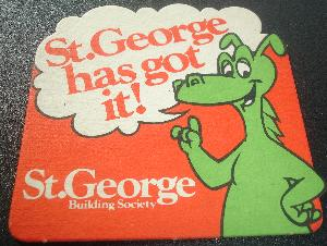 St George Building Society Coaster