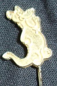 Mag - St george Bank Pin - Gold