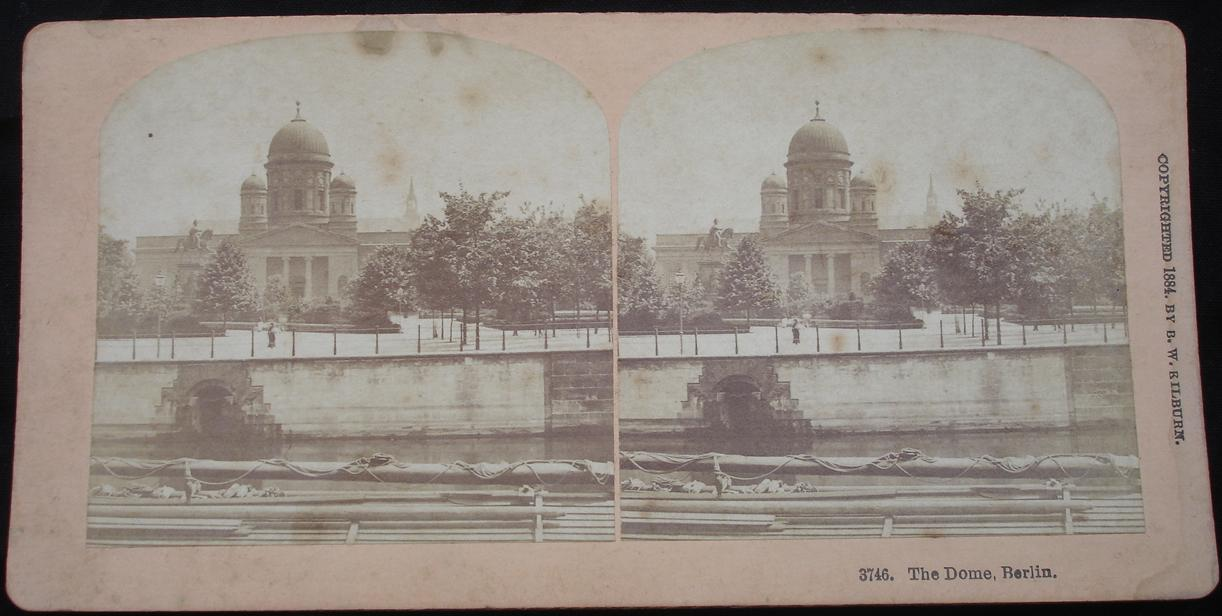 stereoview -The Dome, Berlin 1884 - click for larger image in new window